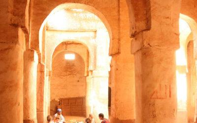 Escuela taller y Restauración de la mezquita de M'hamid. Marruecos